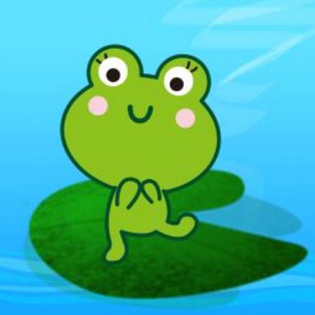 亲子游戏:小青蛙跳荷叶图片